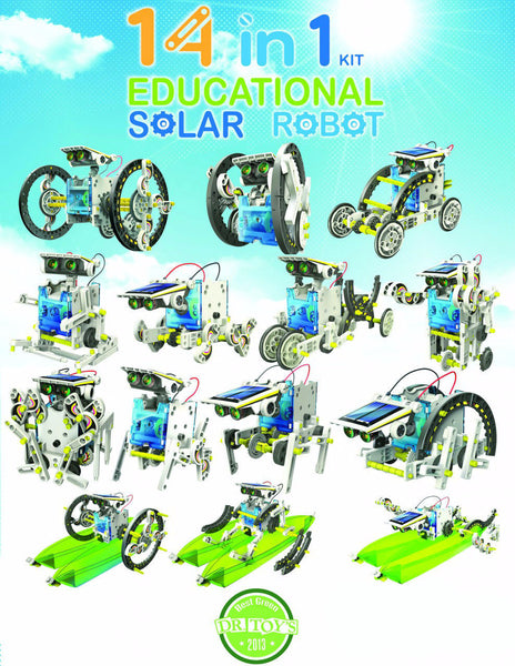 14 in 1 Educational Solar Power Robot - SuperSmartChoices - 15