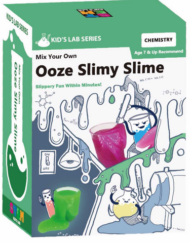 STEM Smart Lab  Toys Kit  - MIX YOUR OWN OWN OOZE SLIMY SLIME