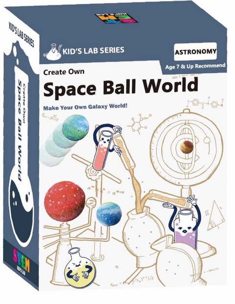 STEM Smart Lab  Toys Kit  - Space Ball World