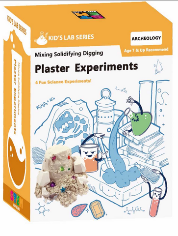 STEM Smart Lab  Toys Kit  - Plaster Experiments