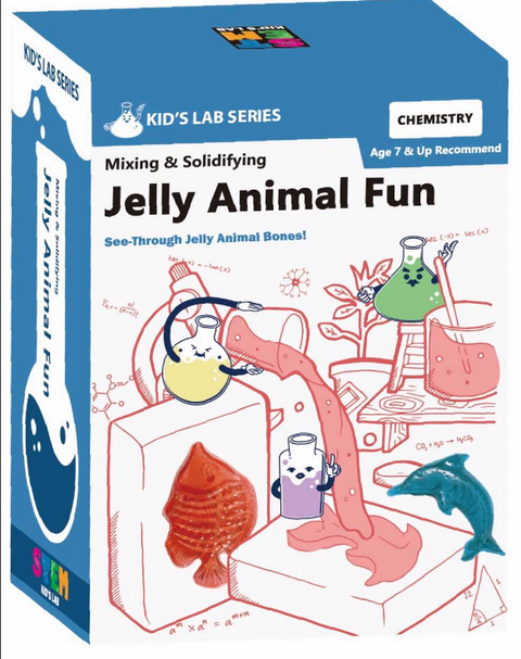 STEM Smart Lab  Toys Kit - JELLY ANIMALFUN
