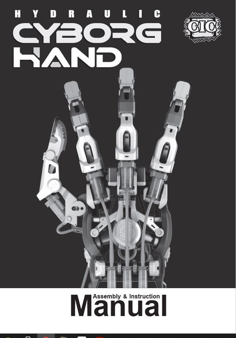 FREE Hydraulic Cyborg Hand  Instruction in French and English