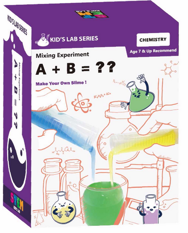 Make Your Own lab  - A+B = SLIME