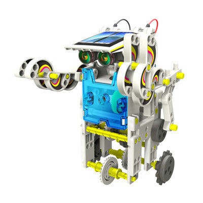 14 in 1 Educational Solar Power Robot - SuperSmartChoices - 4