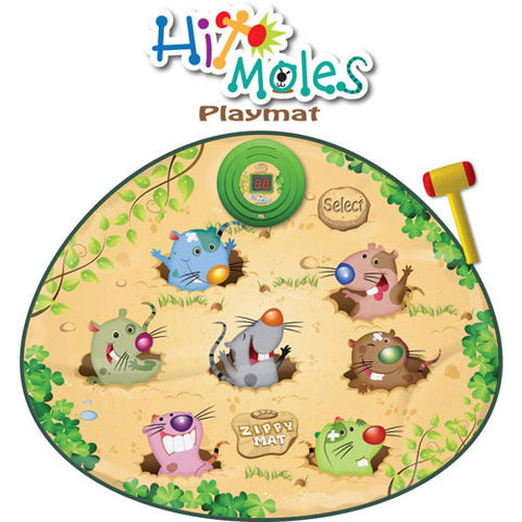 Zippy Mat Hit the Moles Playmat