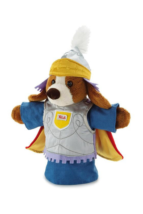 Trudi Soft Toy - Puppet glove Dog Knight - 30 cm - SuperSmartChoices - 1