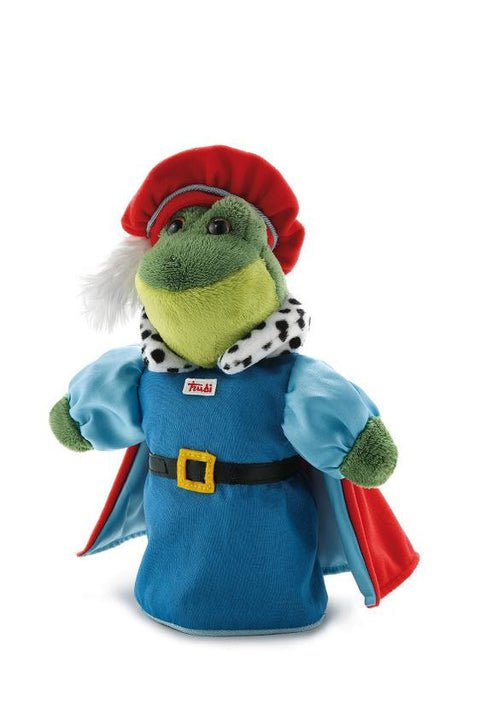 Trudi Soft Toy - Frog Prince Puppet glove - 30 cm - SuperSmartChoices - 1