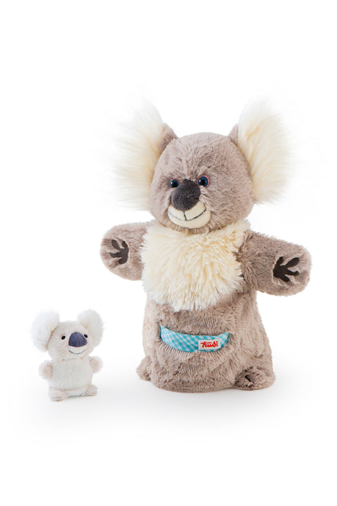 Trudi Hand Puppet Koala & Baby Plush Toy - SuperSmartChoices
