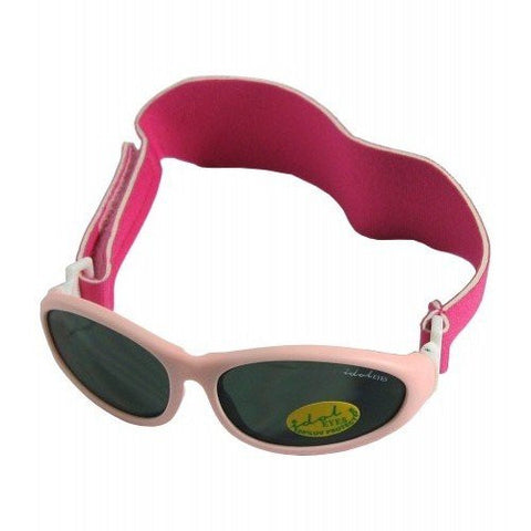 Idol Eyes Baby Wrapz 2 Headband Temple Convertible Sunglasses - Light Pink