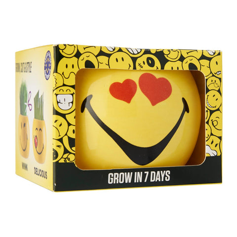 Paris Garden Smileys Grass Head Kits