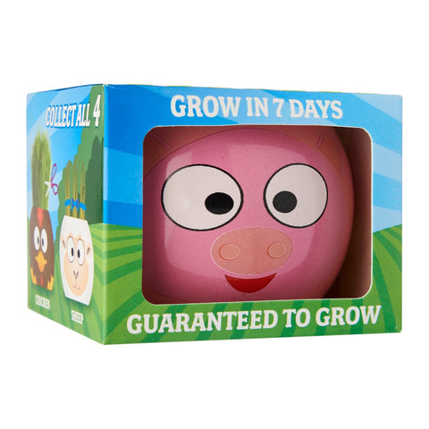 Paris Garden Farm Animals Grass Head Kits