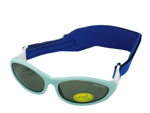 Idol Eyes Baby Wrapz 2 Headband Temple Convertible Sunglasses - Light Blue