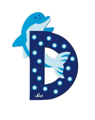 Letter D Dolphin (Animal)