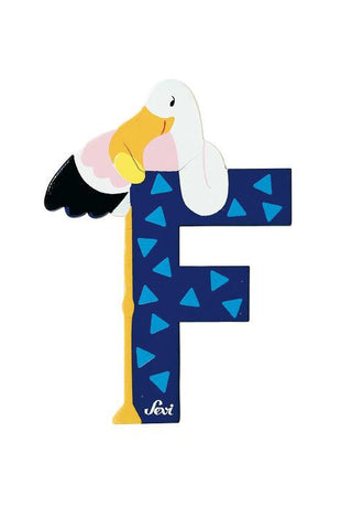 Letter F Flamingo (Animal)