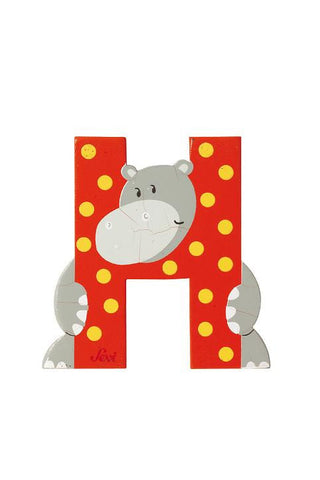 Letter H Hippotamus (Animal)