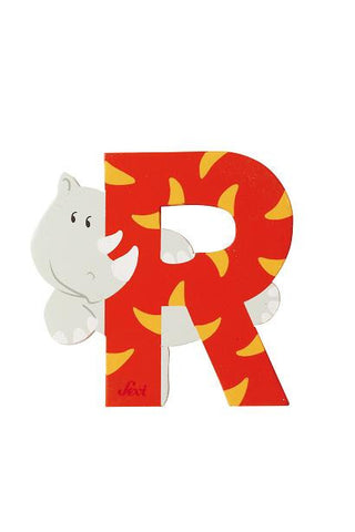 Letter R Rhinoceros (Animal)