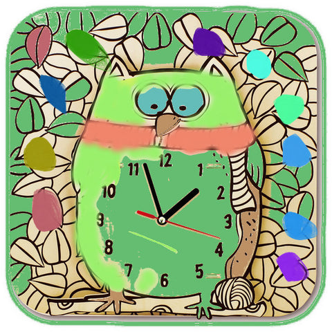 DIY_Drawing a cartoon clock   Owl - SuperSmartChoices - 1
