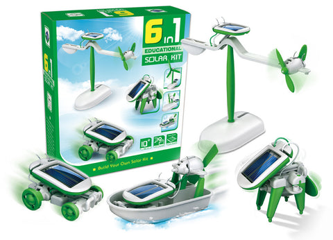 6-in-1 Educational Solar Kit - SuperSmartChoices - 1