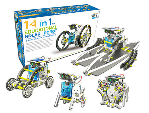 14 in 1 Educational Solar Power Robot