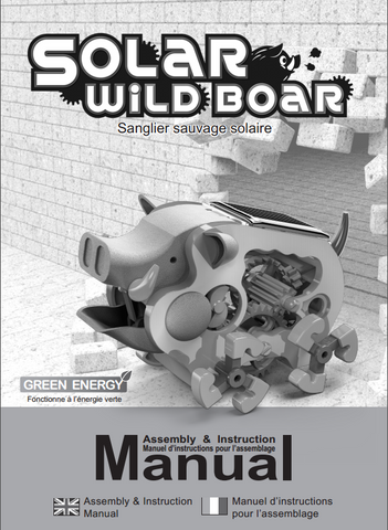 FREE Download SOLAR WILD BOAR Instruction Manual in English