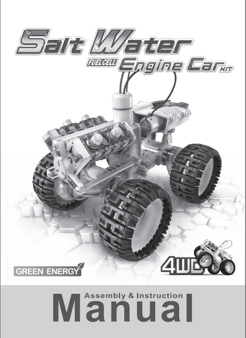FREE Download Salt Water Fuel Cell Monster Truck Instruction Manual in English