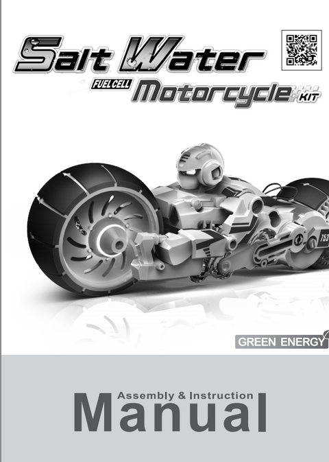 FREE Download Salt Water Fuel Cell Motorcycle Instruction manual in English