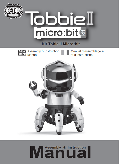 FREE Download TOBBIE ROBOT II Instruction Manual in English