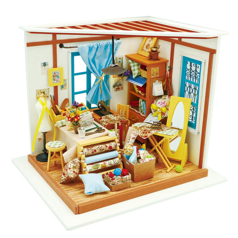 DIY Miniature Dollhouse Kit - Lisa's Tailor-Robotime-Unicorn Enterprises Corp.