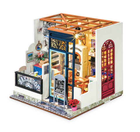 DIY Nancy's Bake Shop  Miniature Dollhouse