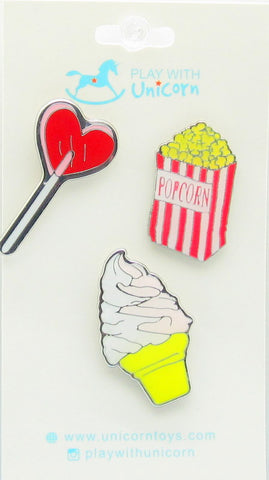 Heart Design- Cute Pins #1015