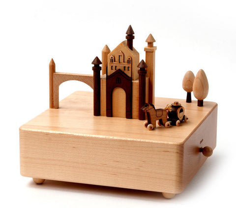 Wooderfulife Music Box-Castle & Carriage - SuperSmartChoices - 1
