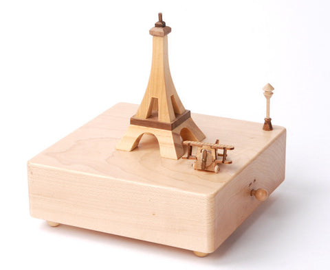 Wooderfulife Music Box-Paris & Plane - SuperSmartChoices - 1