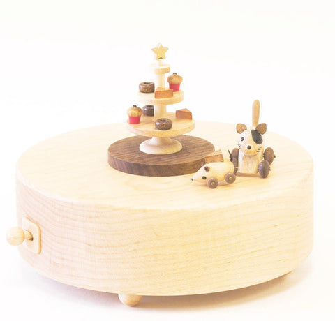 Wooderfulife Music Box-Cat Chasing Mouse - SuperSmartChoices - 1