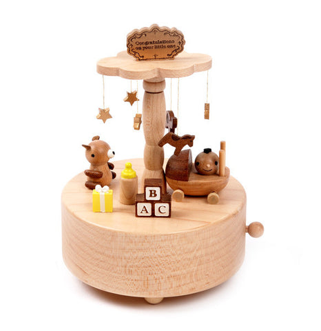 Wooderfulife Music Box-Newborn Baby - SuperSmartChoices - 1