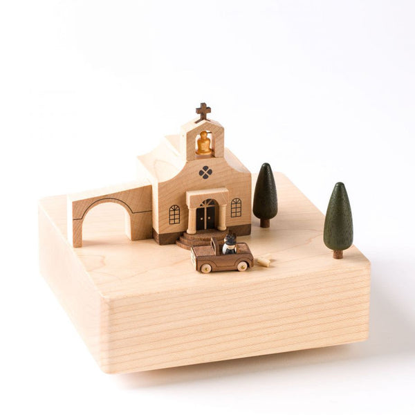 Wooderful Life Wooden Music Box Wedding Church Sugar