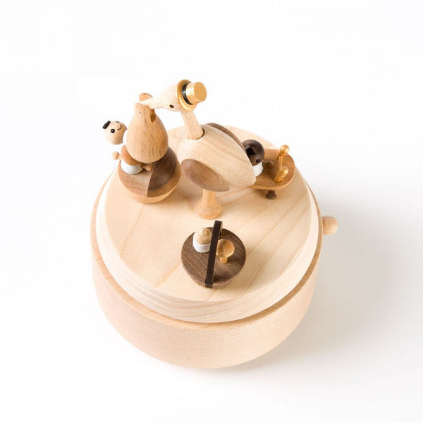 Wooderful Life Wooden Music Box Baby Stock Delivery
