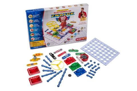 ZNATOK Cool Experiments of Electronics Circuits Discovery Kit Set 188