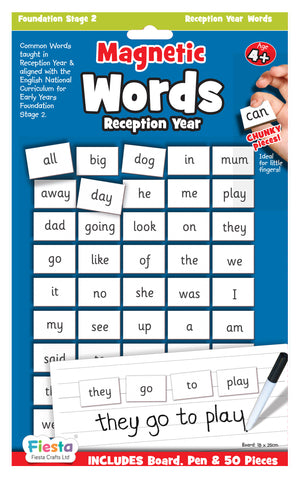 Magnetic - Words Reception Year 4+