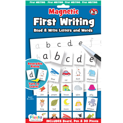 English - First Writing and Reading