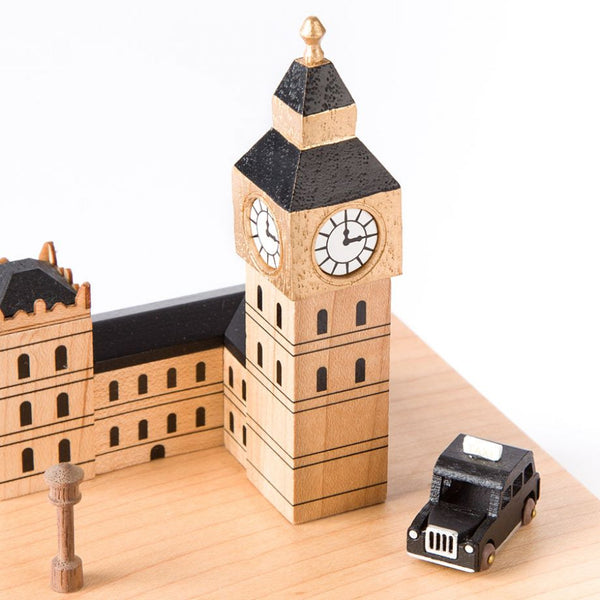 Wooderful Life Wooden Music Box London Supersmartchoices