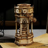 Victorian Lantern Mechanical Music Box