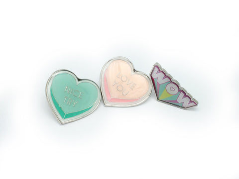 Heart Design Cute Pins #9