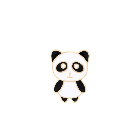 Heart Design Cute Pin Panda