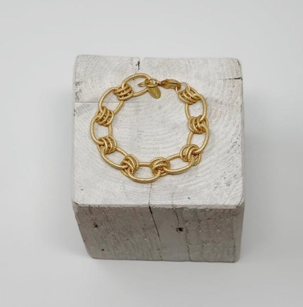 Gold Plated Chunky Chain Bracelet
