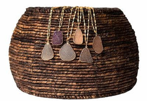 Long Druzy Necklace - Handmade