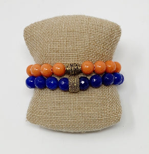 University of Florida Beaded Bracelets - Swara Jewelry