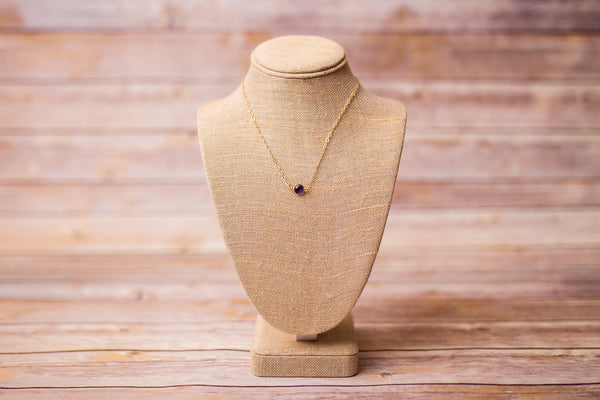 Birthstone Necklaces - Swara Jewelry