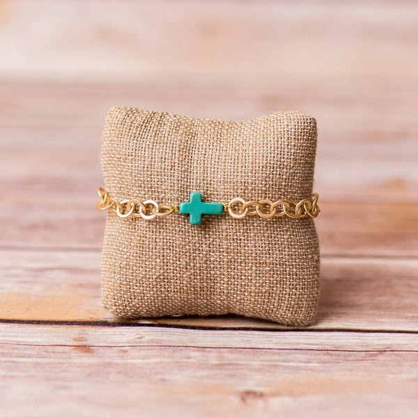 Cross Bracelet - Swara Jewelry