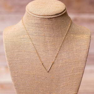 V Necklace - Swara Jewelry