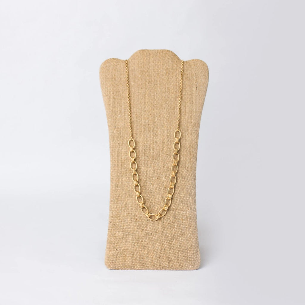 "36"" Gold Plated Necklace"